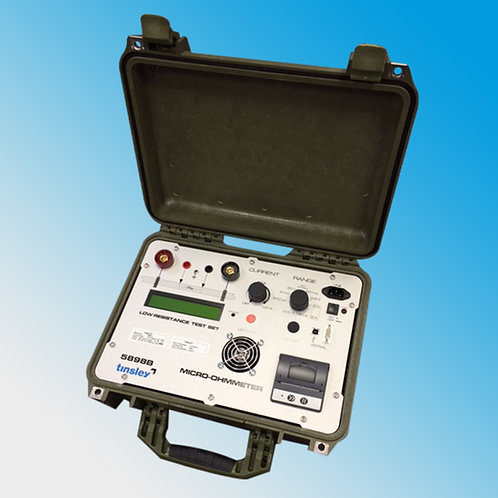 Tinsley 5898 Portable 200A Precision Micro-Ohmmeter