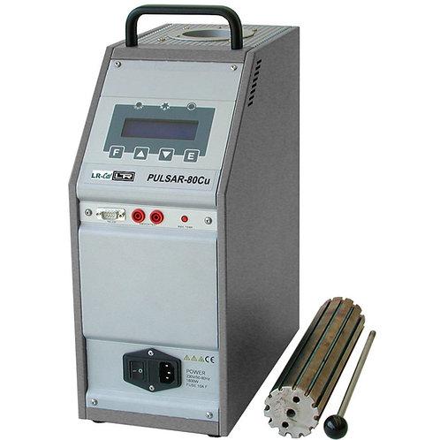 LR-Cal PULSAR-80Cu Dry Block Temperature Calibrator +20°C to +600°C