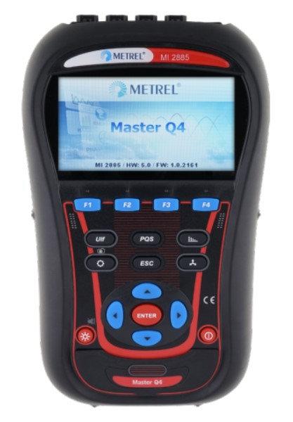 Metrel MI 2885 Master Q4 Industrial KIT, TRMS, VFD, Energy, Harmonics