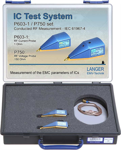 Langer EMV P603-1/P750 Set IC Test System RF Conducted Measurement IEC 61967-4