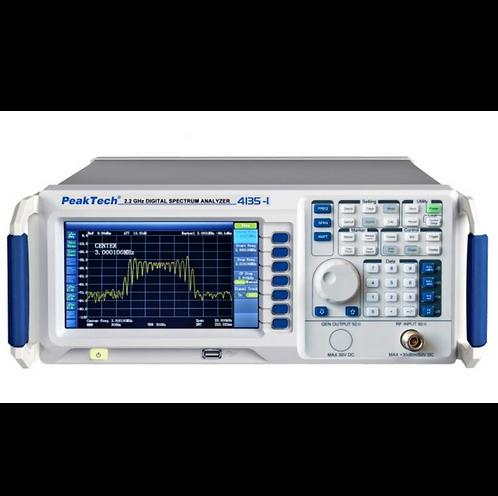 Peaktech P4135 and P4135-1 Digital Spectrum Analyzer 9kHz - 2.2GHz