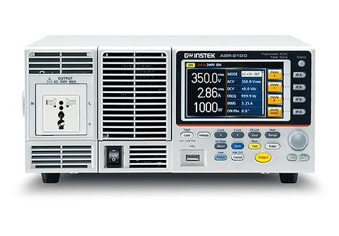 GW Instek ASR-2100 Programmable AC/DC Power Source 1000VA Power Supply USB LAN