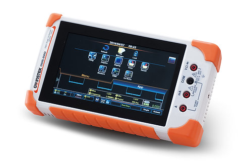 GW Instek GDS-210 Digital Storage Oscilloscope 200MHz DSO 2 Channels 1GS/s DMM
