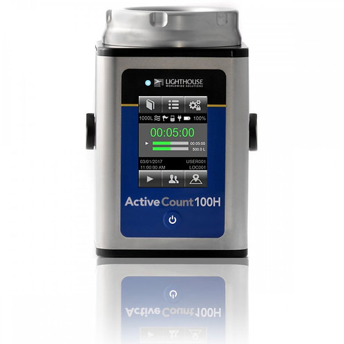 Lighthouse ActiveCount100H Portable Microbial Sampler