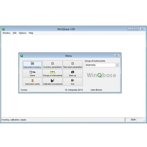 Meatest WinQbase Calibration Database