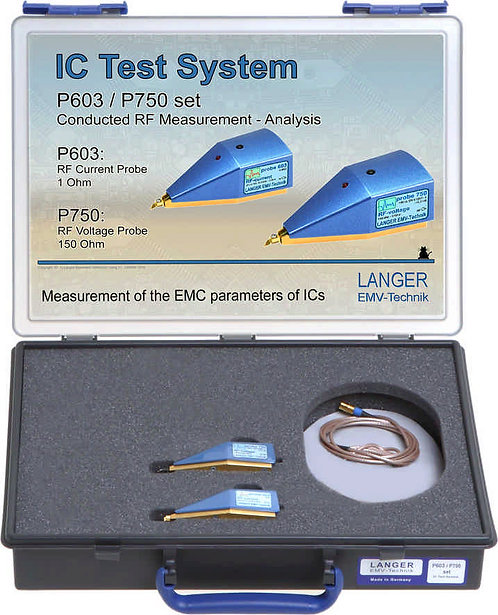 Langer EMV P603/P750 Set IC Test System RF Conducted Measurement