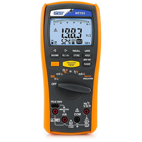 HT Instruments HT701 Professional Multimeter Insulation Measurement up to 1kV