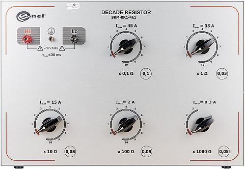 Sonel -SRM-0R1-4k1-Decade Resistor, 230/400 V voltage, 50/60 Hz AC