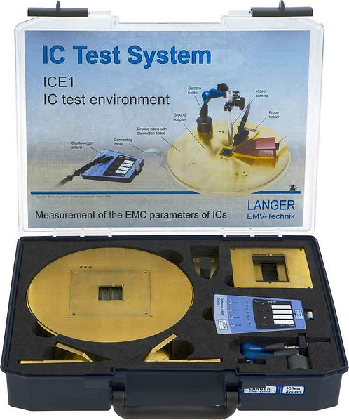Langer EMV ICE1 Set IC Test Environment