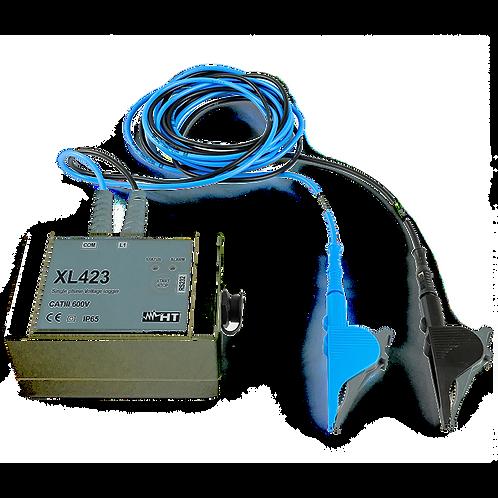 HT Instruments XL423 Single Phase Voltage Recorder Meter