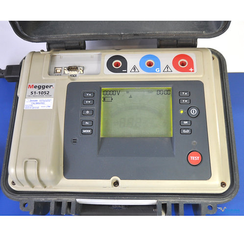 Megger S1-1052 10kV Insulation Tester - NIST Calibrated with Warranty