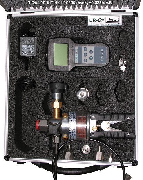LR-Cal LPP HK-LPC200 Hydraulic Pressure Calibration Kit 0.025% Accuracy