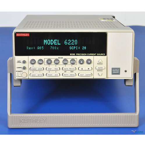 Keithley 6220 Precision DC Current Source 100fA to 100mA - NIST Calibrated