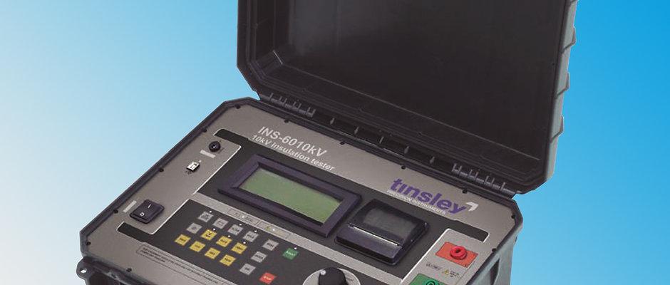 Tinsley INS-6010kV Digital Insulation Tester 10kV Megohmmeter megger