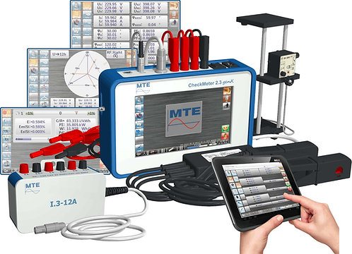 MTE -  CheckMeter 2.3 GenX  Three Phase Working Standard