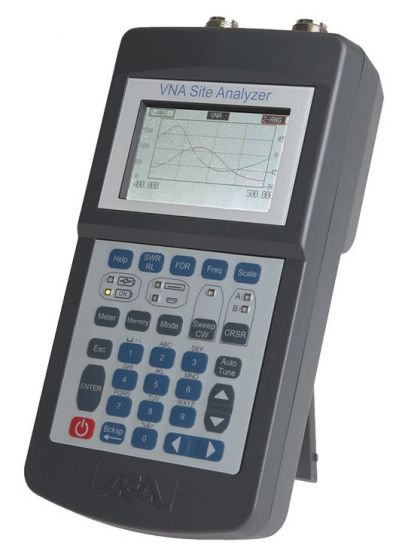AEA Liberator 6050-5100 VNA Site Analyzer With S11 and S21 Ports FDR Measurement