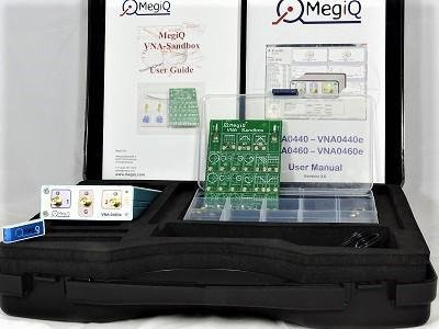 MegiQ VNA-0460e-SB Three Port Vector Network Analyzer 6GHz with VNA Sandbox