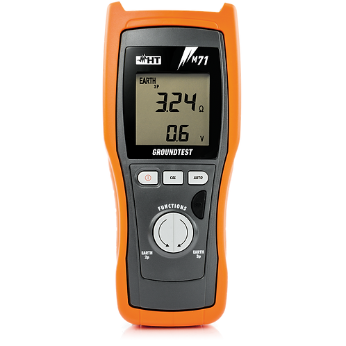 HT Instruments - M71 Ground/Earth Resistance Meter