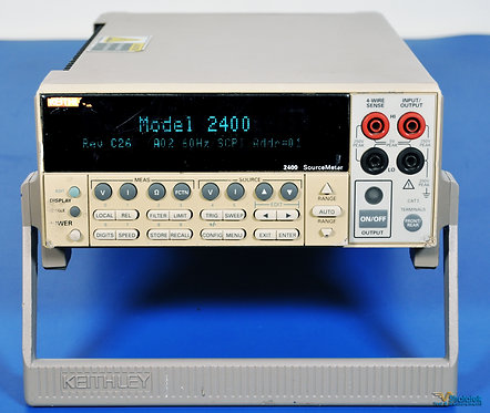 Keithley 2400 SourceMeter SMU - NIST Calibrated with Warranty