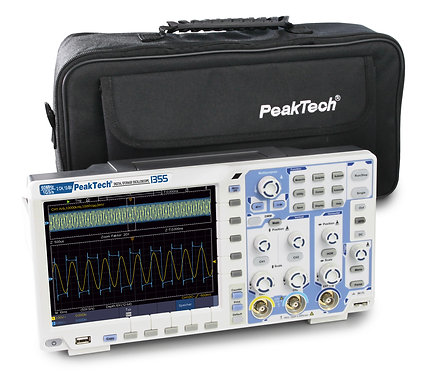 Peaktech P1355 Digital Storage Oscilloscope 60MHz 2 CH 1 GS/s DSO