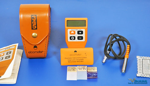 Elcometer 345 Coating Thickness Gauge 0 - 1250μm Ferrous, Non-Ferrous Substrates