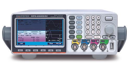 GW Instek MFG-2220HM 200MHz Arbitrary Function Generator Dual Channel