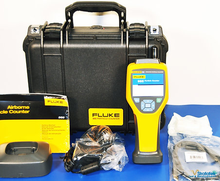 New Fluke 985 Air Particle Counter IAQ 6 channels 0.3µm 0.5µm 1.0µm 2.0µm 5.