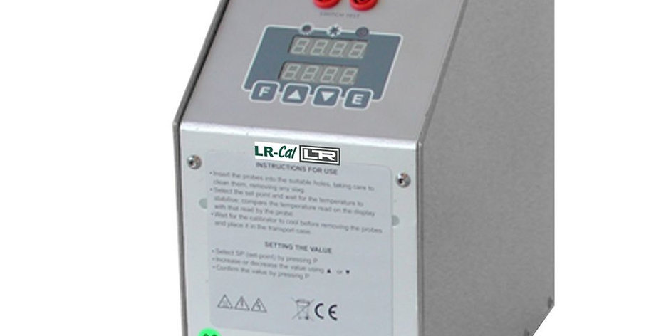 LR-Cal PYROS-650 DNV-GL Compact Dry Block Temperature Calibrator +35°C to +650°C