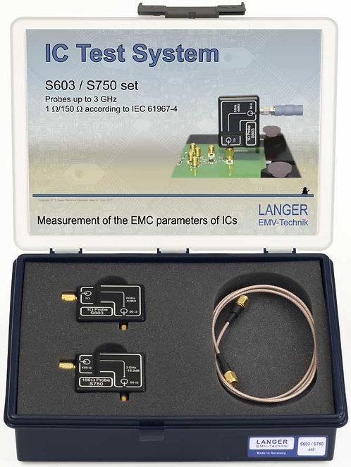 Langer EMV S603/S750 Probe Set 1Ω/150Ω Conducted RF Measurement acc. IEC 61967-4