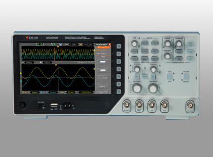 Saluki DSO3000 Series Oscilloscopes 70MHz 100MHz 200MHz 2 Channel 1GSa/s
