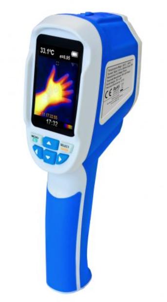 Peaktech P5605 IR Thermal Imager Infrared Thermal Imaging Camera -20°C to 300°C