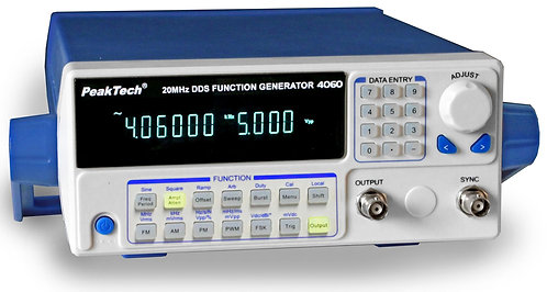 Peaktech P4060 DDS Function Generator 20MHz Signal Generator