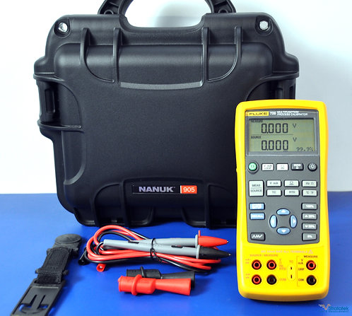 Fluke 725 Multifunction Process Calibrator - NIST Calibrated with Data