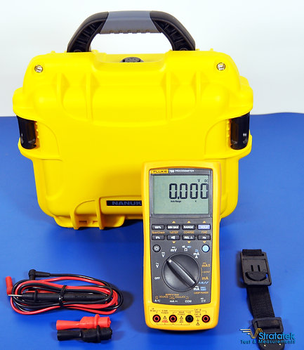 Fluke 789 ProcessMeter Loop Calibrator with HART - NIST Calibrated with HART