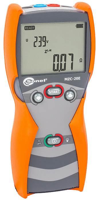 Sonel - MZC-20E Short-Circuit Loop Impedance Meter, 0.24...200 Ω