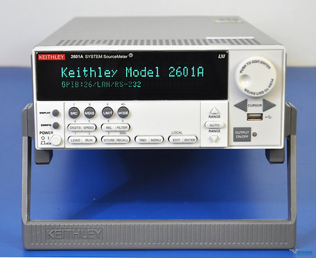 Keithley 2601A SourceMeter SMU 40V 10A - NIST Calibrated with Warranty