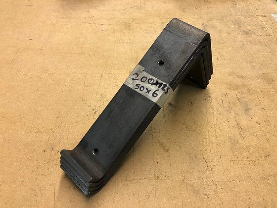 Steel shelf brackets 200mm