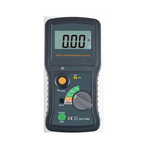 KPS-TL320 Earth Ground Resistance Tester 200V 2000Ω 2-Pole 3-Pole