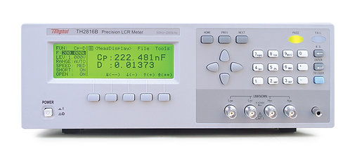 Tonghui TH2816B Precision LCR Meter 50Hz to 200kHz 100Ω 37 Frequency Points