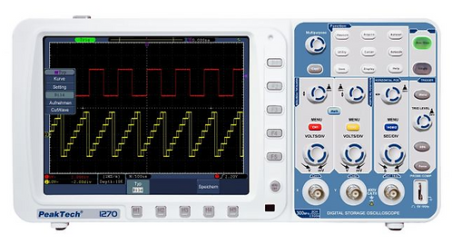 Peaktech P1275 Digital Storage Oscilloscope 300 MHz 2 Channel 3.2 GSa/s
