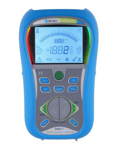 Metrel MI 3121H SMARTEC 2.5 kV Insulation Continuity Tester