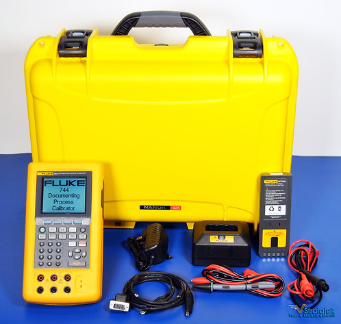 Fluke 744 Documenting Process Calibrator HART - NIST Calibrated with Warranty