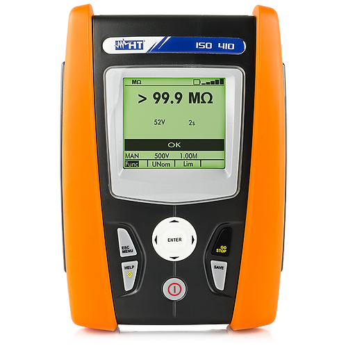 HT Instruments - ISO410 Digital Insulation and Continuity Meter 1kV