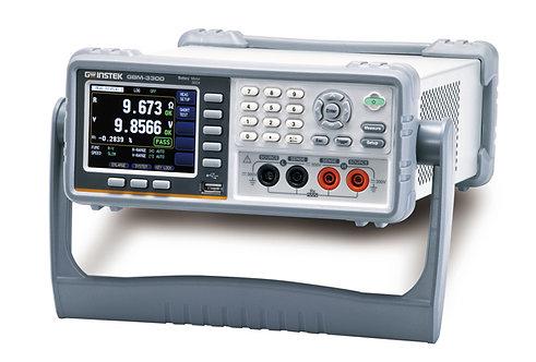 GW Instek GBM-3300 Battery Meter 300V AC/DC RS 232 USB 0.01% Accuracy
