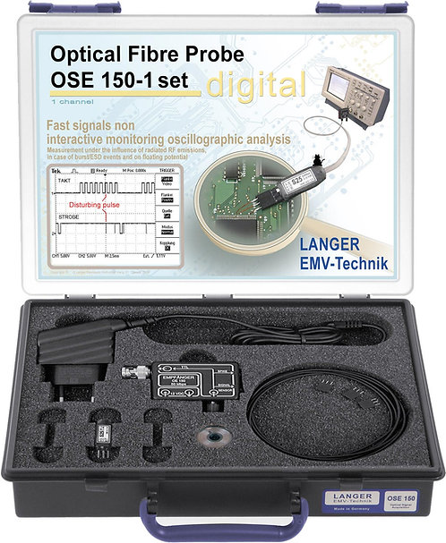Langer EMV OSE 150-1 Set Optical Fibre Probe 1-channel, 50 Mbps