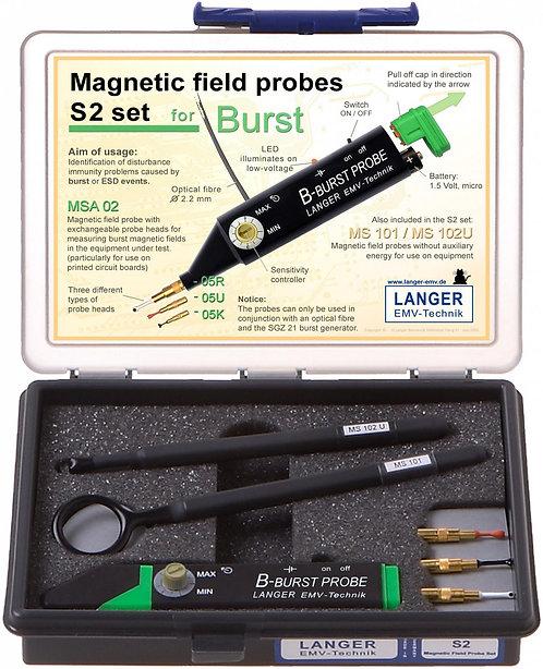 Langer EMV S2 Set - Magnetic Field Probes for E1