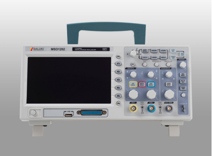 Saluki MSO1000 Series Mixed Signal Oscilloscope 200MHz, 100 MHz, 60MHz 2 Channel