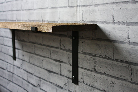 STEEL SHELF BRACKETS - 50mm x 6mm