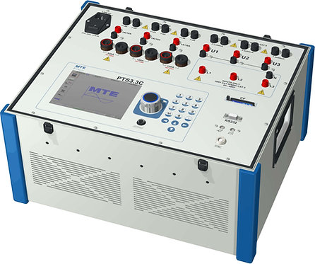 MTE - PTC 3.3 C - Three Phase Portable Test System With Reference Standard