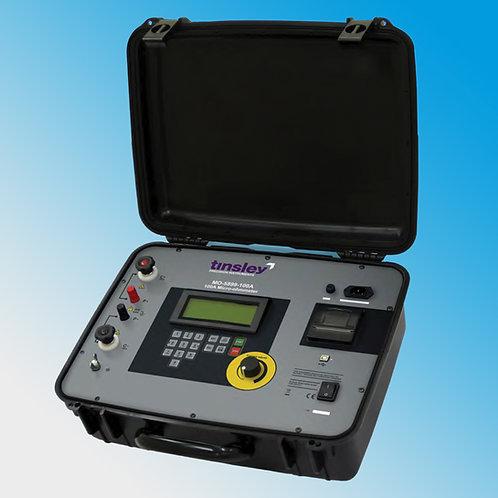 Tinsley MO-5899 100A Portable Digital Micro-Ohmmeter DLRO